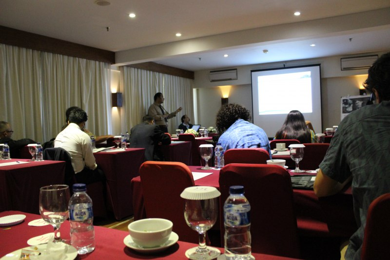 Photos of Advances in Geodesy and Geomatics Engineering in Bali #25